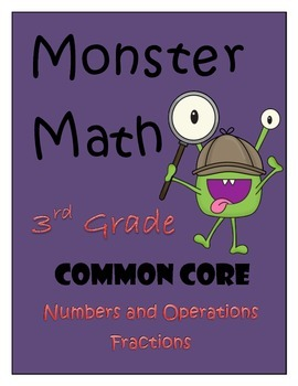 Numbers and Operations Fractions - Monsterous Math Game fo