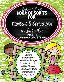 Numbers and Operations in Base Ten Book of Sorts! Test Prep!