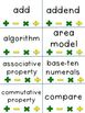 Numbers and Operations in Base Ten CCSS: A Grade 4 Vocabul