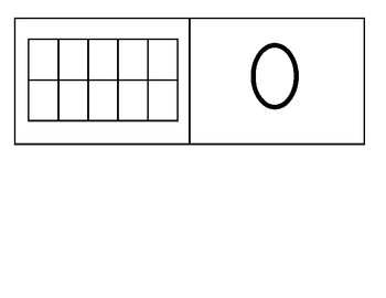 Numbers and Ten Frames for 0-10