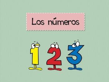 Numbers in spanish - Los números 1-31