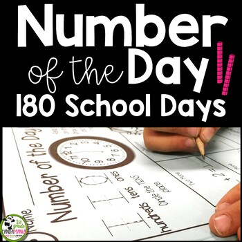 Numbers of the Day BUNDLE for the Year! Numbers 1-160!