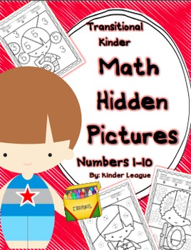 Numbers to 10 - Hidden Pictures for Transitional Kindergar