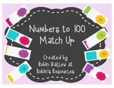 Numbers to 100 match up