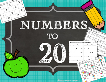 Numbers to 20 Activities