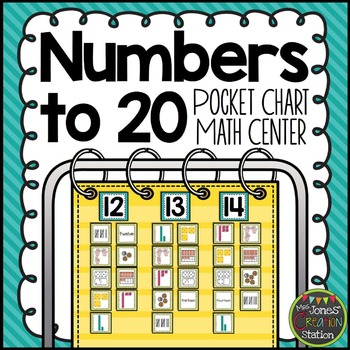 Numbers to 20 {Pocket Chart Math Center}