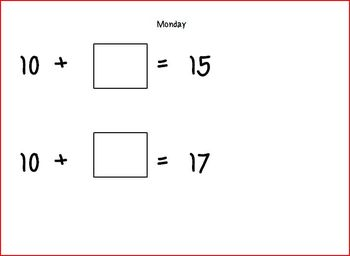 Numeracy - Daily Practice for 6 weeks