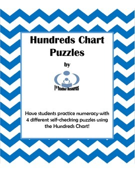 Numeracy Practice: Hundreds Chart Puzzles