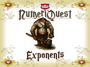 NumeriQuest Laws of Exponents and Exponential Functions