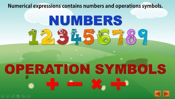 Numerical Expressions