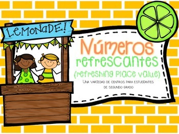 Numeros Refrescantes Math Centers(Refreshing Place Value)