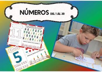 Numbers! Números del 1 al 30.
