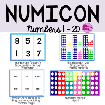 Numicon Numbers