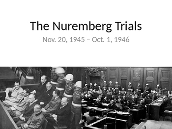 Nuremberg Trials and Aftermath of the Holocaust