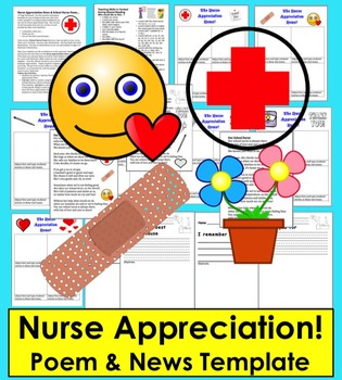 Nurse Appreciation News!  - Templates to Write and Publish