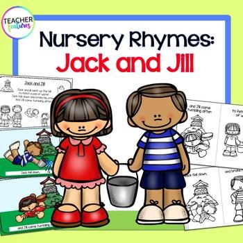 Nursery Rhymes: Jack & Jill Booklets