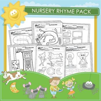 Nursery Rhyme Activities - 24 Pack