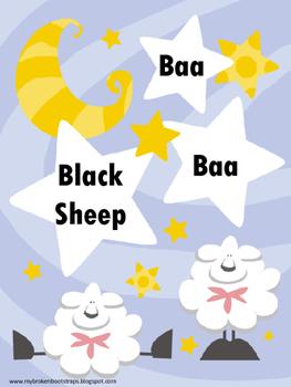 Nursery Rhymes Baa Baa Black Sheep