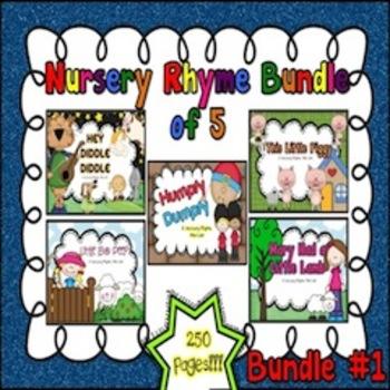 Nursery Rhyme Bundle #1 (Set of 5)