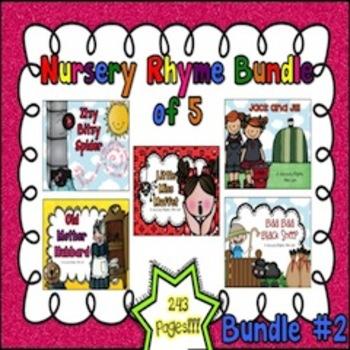Nursery Rhyme Bundle #2 (Set of 5)