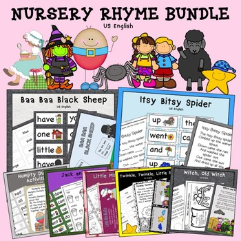Nursery Rhyme Growing Bundle US