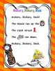 """Nursery Rhyme """"Hickory Dickory Dock"""" - Math and Literacy pack"""