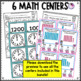Literacy and Math Centers Mother Goose