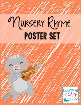 Nursery Rhyme Poster Set