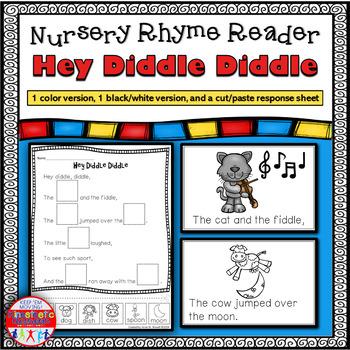 Reading Fluency Activity - Nursery Rhyme Reader: Hey Diddl