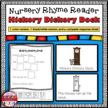 Reading Fluency Activity - Nursery Rhyme Reader: Hickory D