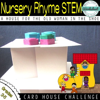 STEM: Index Card House
