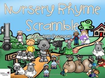 Nursery Rhyme Scramble