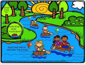 Nursery Rhyme Series #10 Row Row Row Your Boat