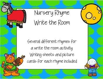 Nursery Rhyme Write the Room