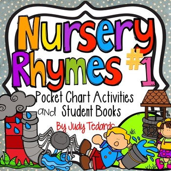 Nursery Rhymes #1 (Pocket Chart and Book Making Activity)