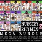 Nursery Rhymes 2 Clip Art Mega Bundle