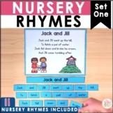 Nursery Rhymes Poetry Center - 10 poems