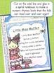FREE Nursery Rhymes Poetry Book Pages