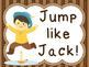 Nursery rhyme steady beat movement cards
