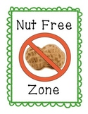 Nut Free Posters