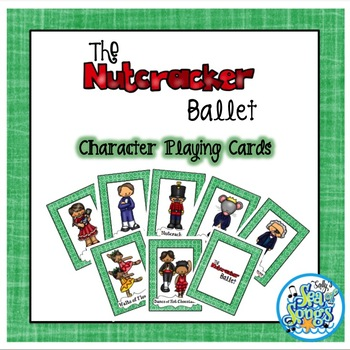 Nutcracker Character Card Games