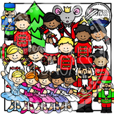 Nutcracker Christmas Clipart Bundle