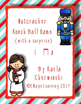 Nutcracker Koosh Ball Game {with a surprise} ta, ti-ti and Z