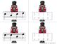 Nutcracker Melody Matching--A stick to staff notation game