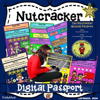 Nutcracker Musical Passport (DIGITAL VERSION)