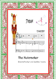 Boomwhackers  and piano score.Color codec.Nutcracker Suite