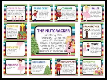Nutcracker Vocabulary Bulletin Board Kit