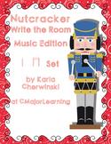 Nutcracker Write the Room Music Edition ta ti-ti Set