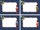 Nutcracker theme Blank Task Cards Template Christmas Holid