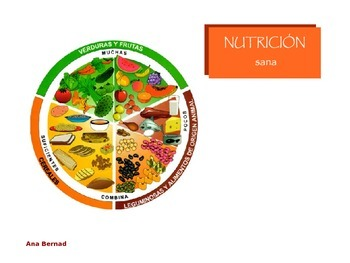 Nutrición: food and nutrition Power Point